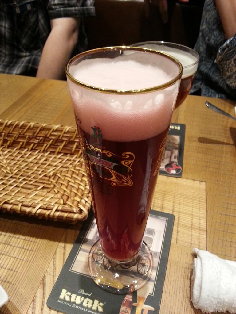 ベルギービールとやら